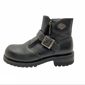 HARLEY-DAVIDSON Women's Start Switch Leather Boots